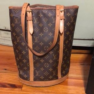 Louis Vuitton Vintage Tall Bucket Bag